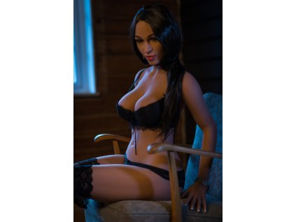 Sexy Doll Brunette Nelly 5ft 2' (160 cm) - STOCK/ D-Cup