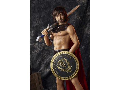 Male Love Doll Muscular Huntley 5ft 3' (162 cm) - STOCK
