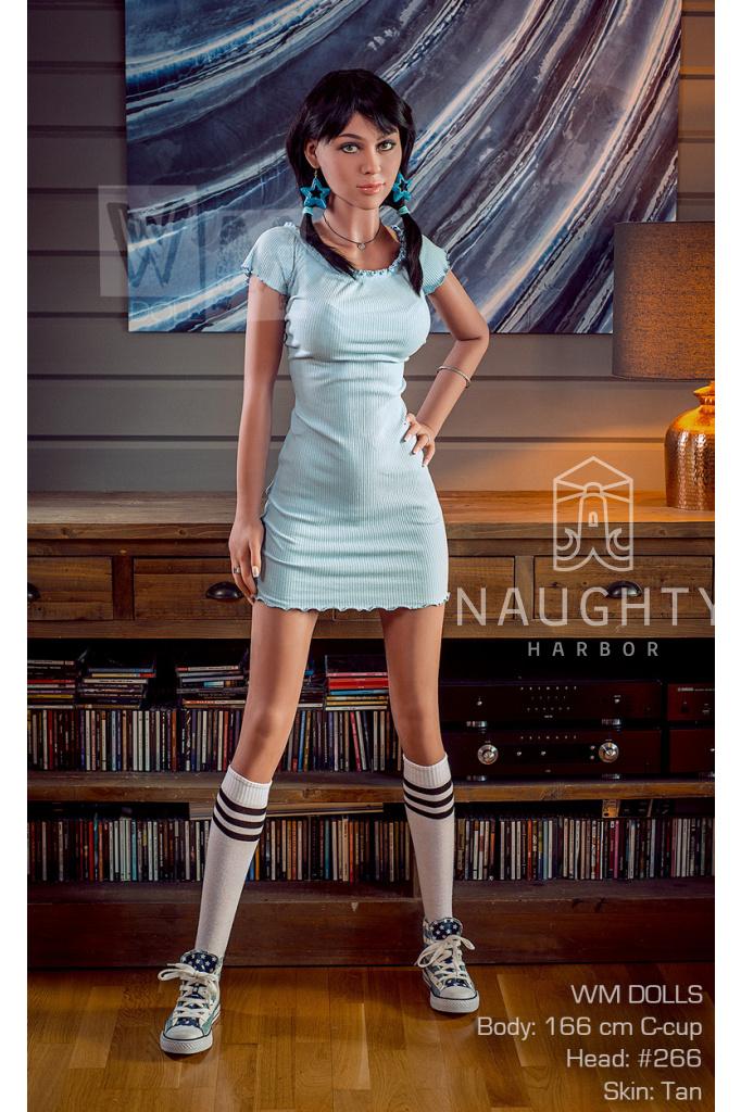 Real Sex Doll Černovláska Isabella, 166 cm