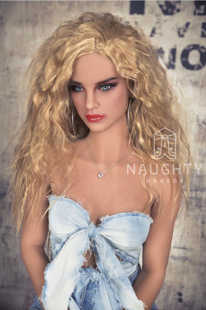 Sex Doll Blondýnka Hannah, 160 cm