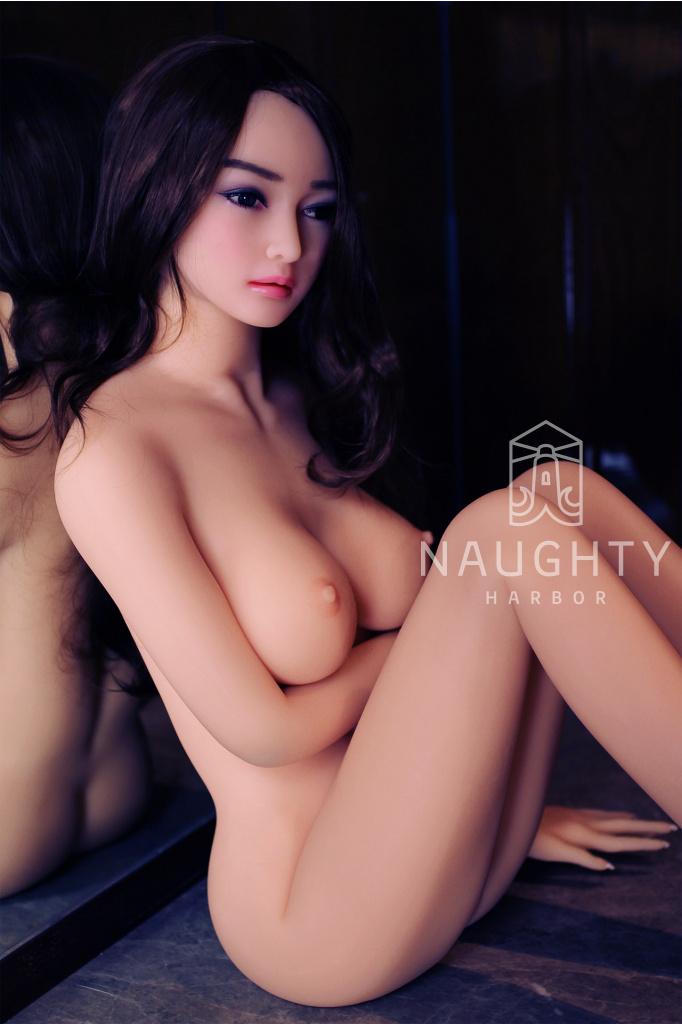 Silikonová panna Asiatka Eda, 168 cm