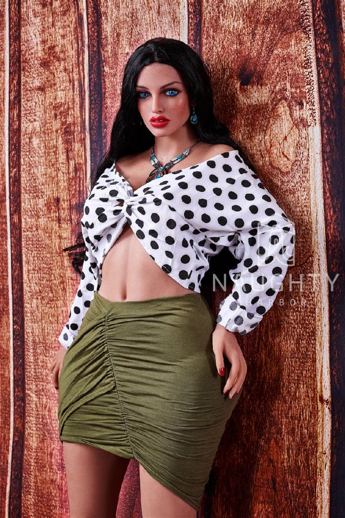 Silikonová panna Boubelka Anya, 160 cm