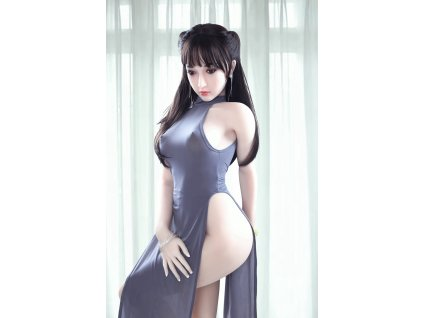 Real Sex Doll Černovláska Annie, 160 cm/ B-Cup