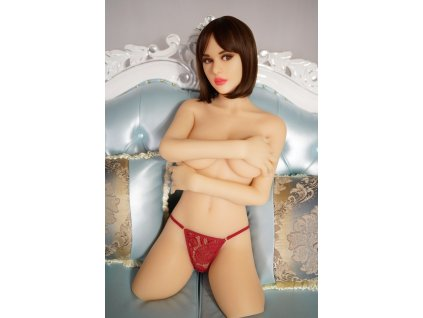 Silikonová panna Torzo Cathy, 92 cm