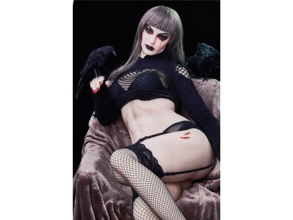 TPE Sex Doll Halloweenská Lia, 168 cm