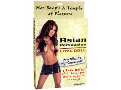 Asian Fever - Nafukovací panna Asiatka