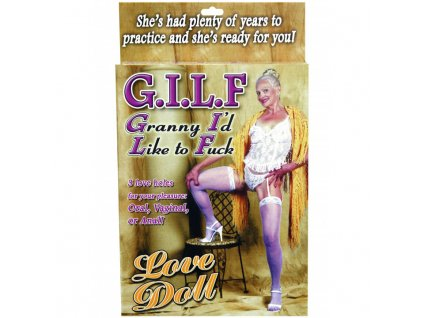 Gilf Doll - Nafukovací panna babička