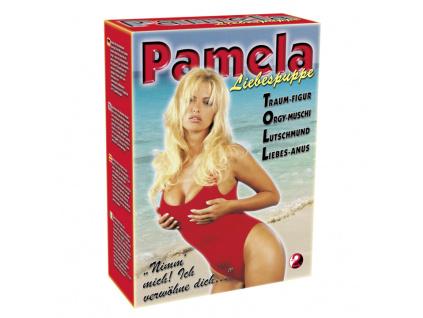 Pamela Doll nafukovací panna záchranářka