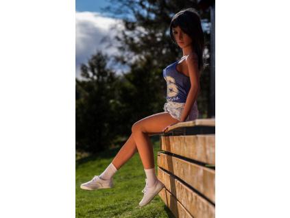 Love Doll Brunetka Carol, 140 cm