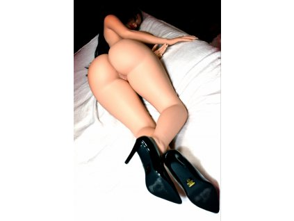 TPE Sex Doll Černovláska Hannah, 152 cm