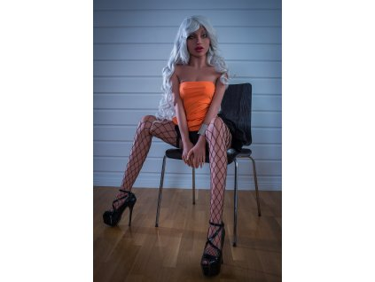 Real Sex Doll Blondýnka Naomi, 155 cm