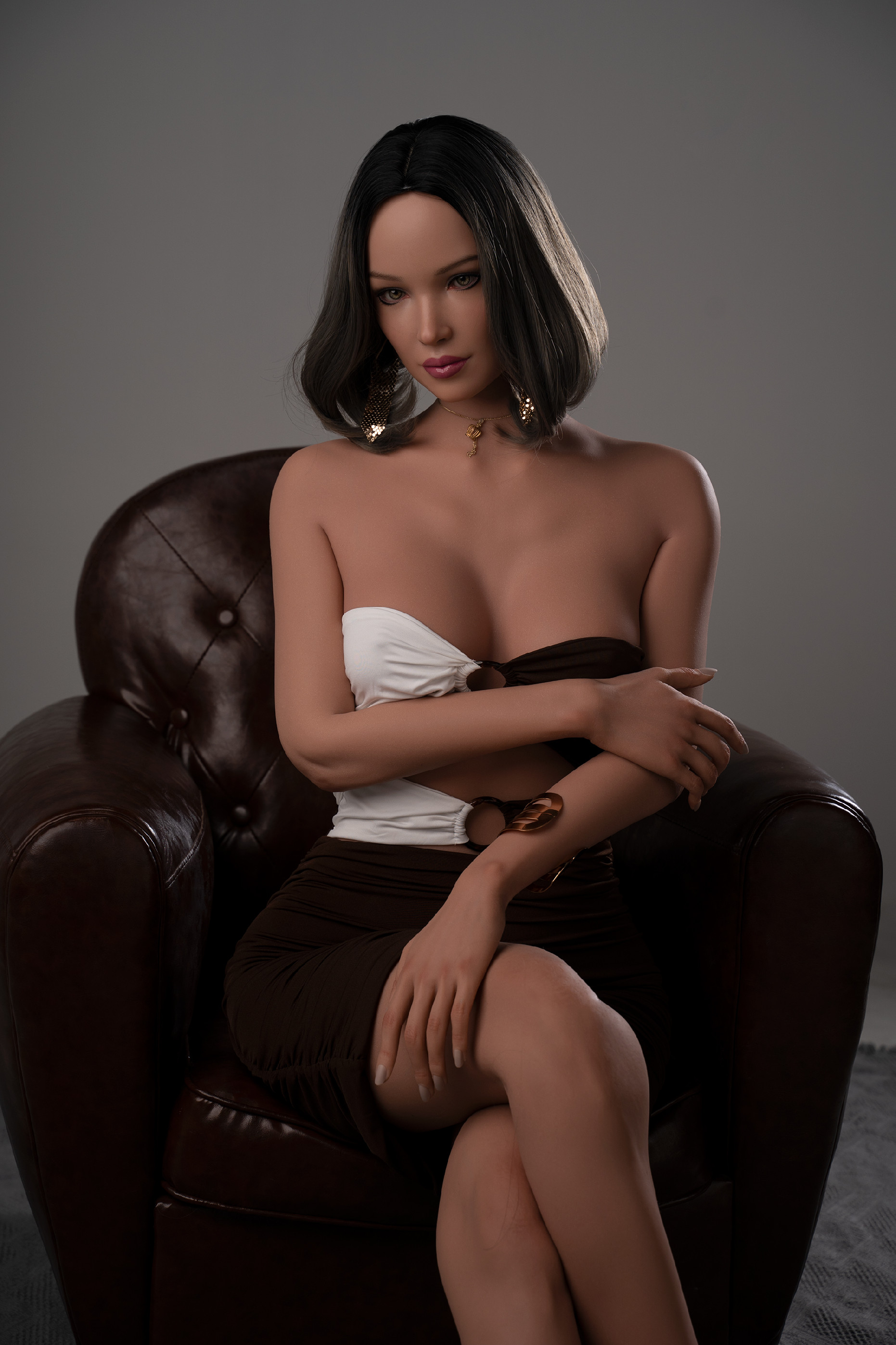 Levně Real Sex Doll Sexy Dina, 170 cm/ C-Cup