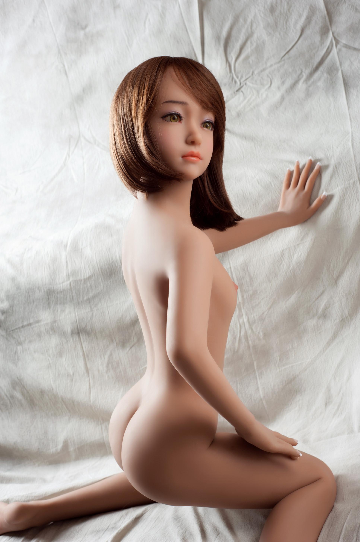 Levně Sex Doll Zrzka Luna, 135 cm