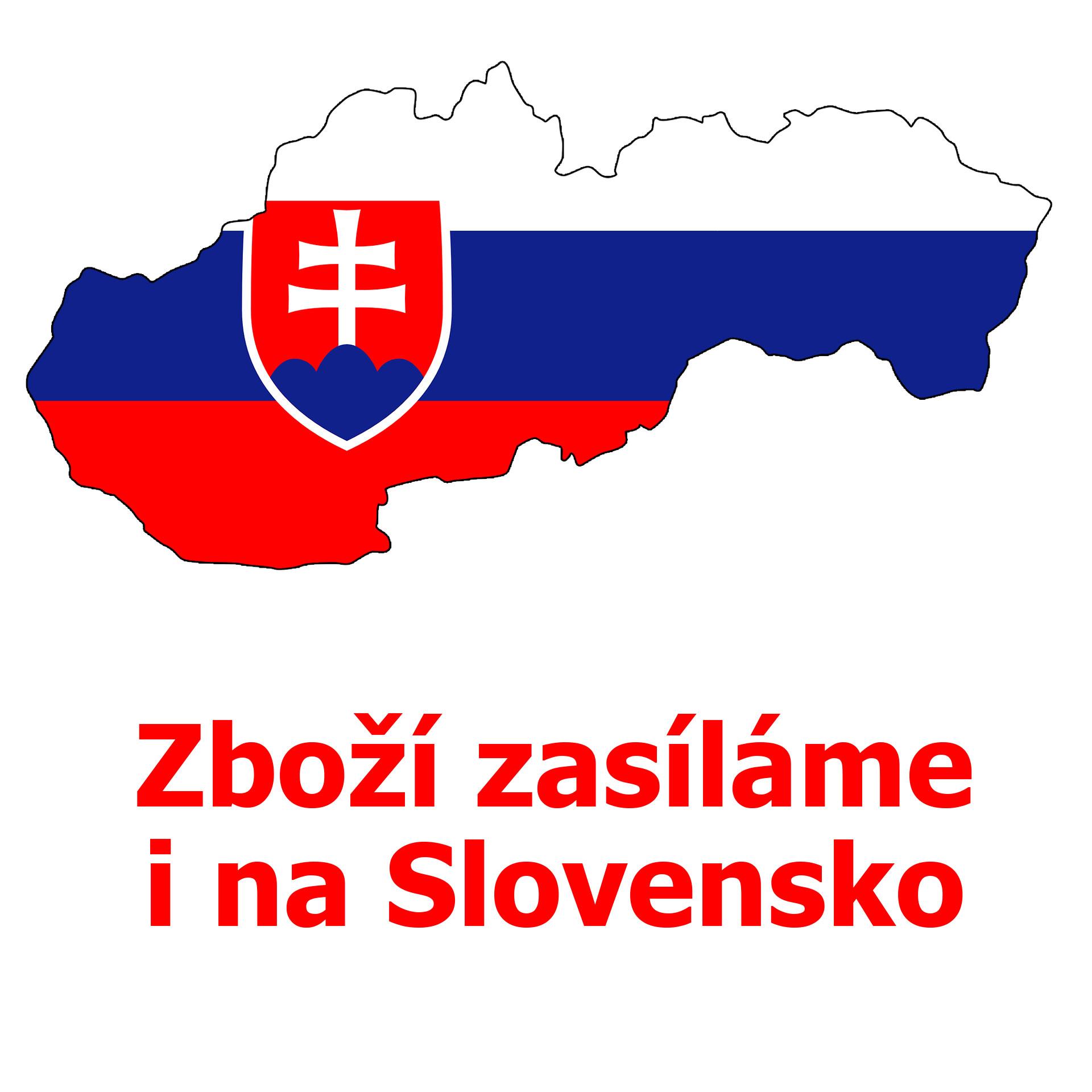 Zboží na Slovensko