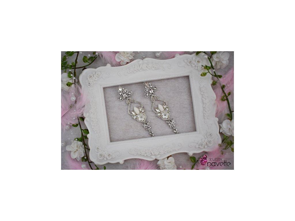 Svadobné náušnice Tiffany