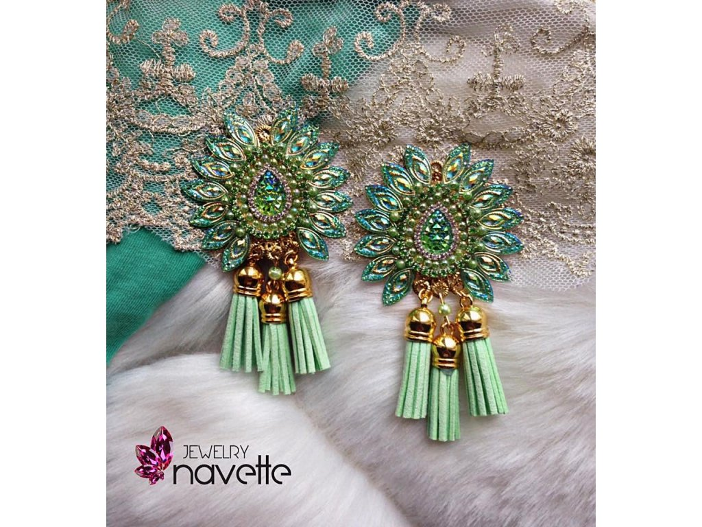 2ba7e248f90 Náušnice klasic by NJ - Navette jewelry