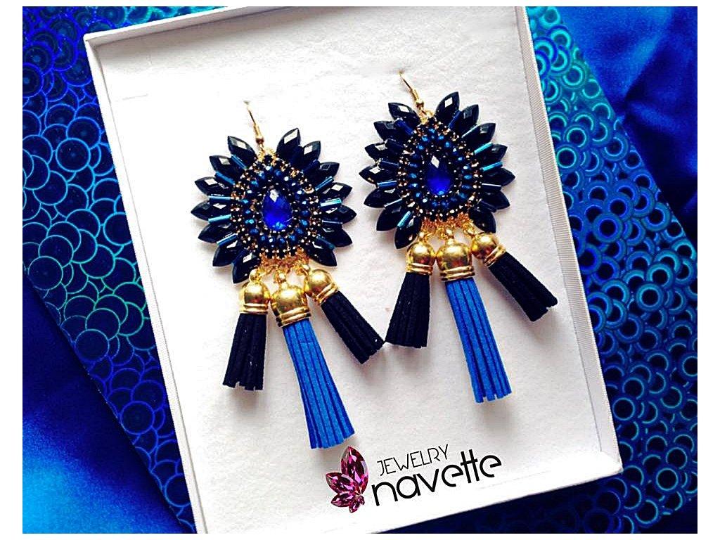 2ba7e248f90 Náušnice klasic by NJ - Navette jewelry