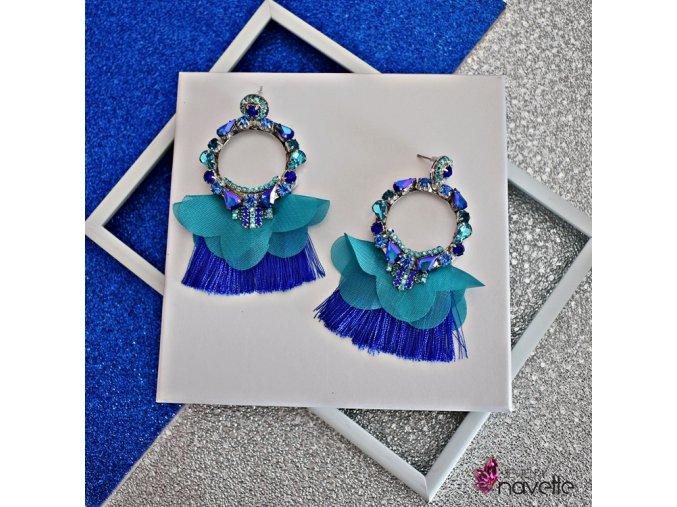 Kruhy Dancer blue