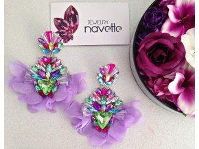 Náušnice Montana - violet