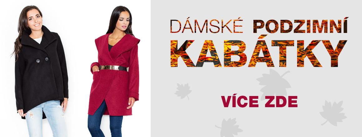 Dámské podzimní kabátky
