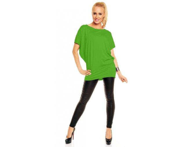 Asymetrická tunika Daniela – zelená