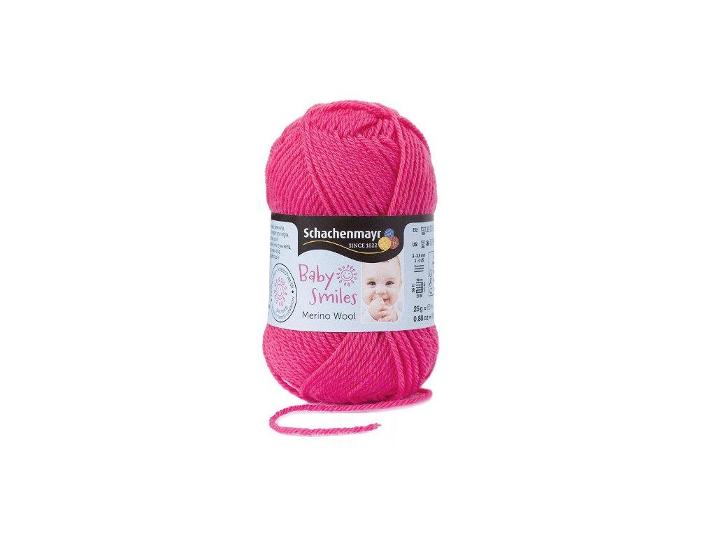9807396-01036 Baby Smiles Merino Wool 25g - pink