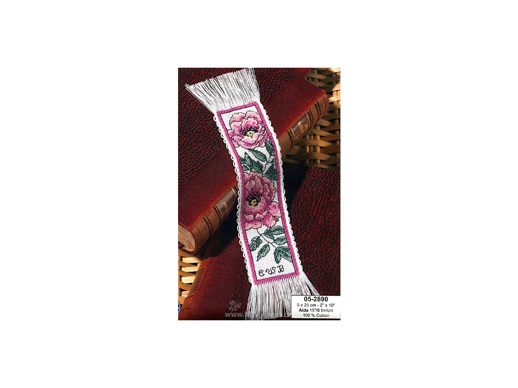 PER05-2890 Záložka s vlčími máky