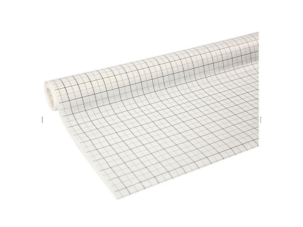 CRE-20706 Čtverečkovaný papír na střihy (0,8x15m)