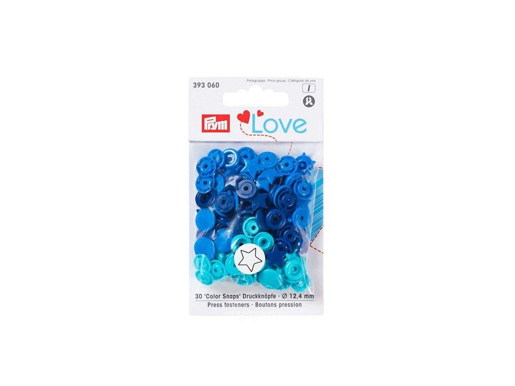 V39711 Patentky Color snaps  PRYM LOVE (393060)