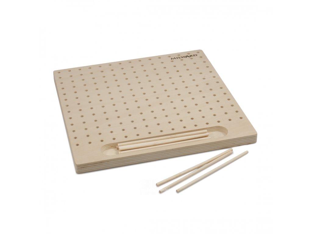 2519015 Pletací deska s 12 kolíky