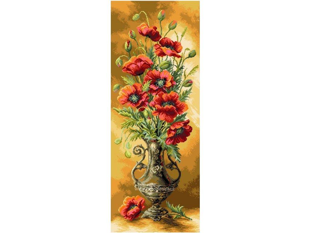 CDA-1706 Váza s vlčími máky