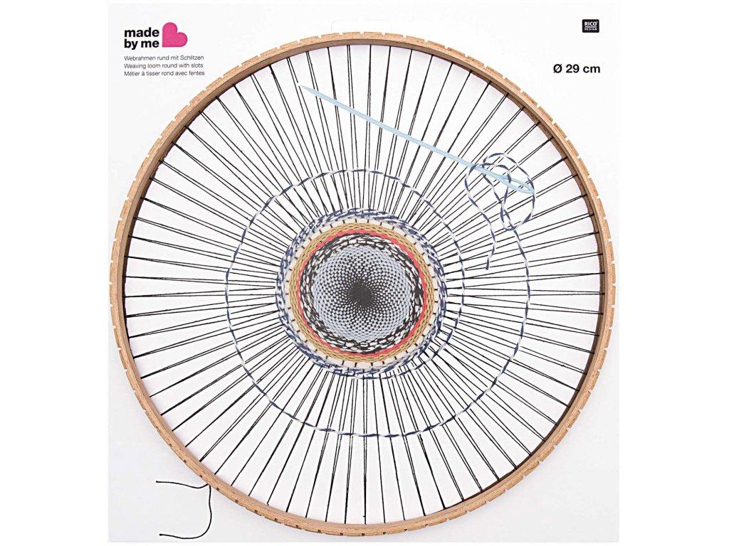 RICO-500015.551 Dřevěný kruh pro tkaní 29cm