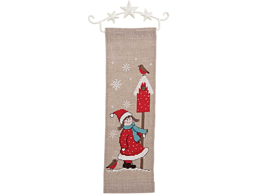 RICO-79386.52.00 Závěs s vánočním motivem