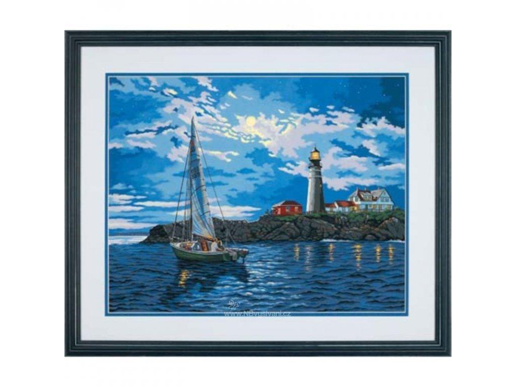 DIM73-91322 Malování podle čísel - Twilight Beacon (51x41cm)