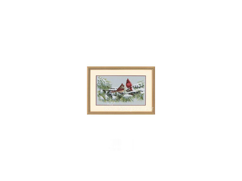 35178 Winter Cardinals - Kardinálové v zimě