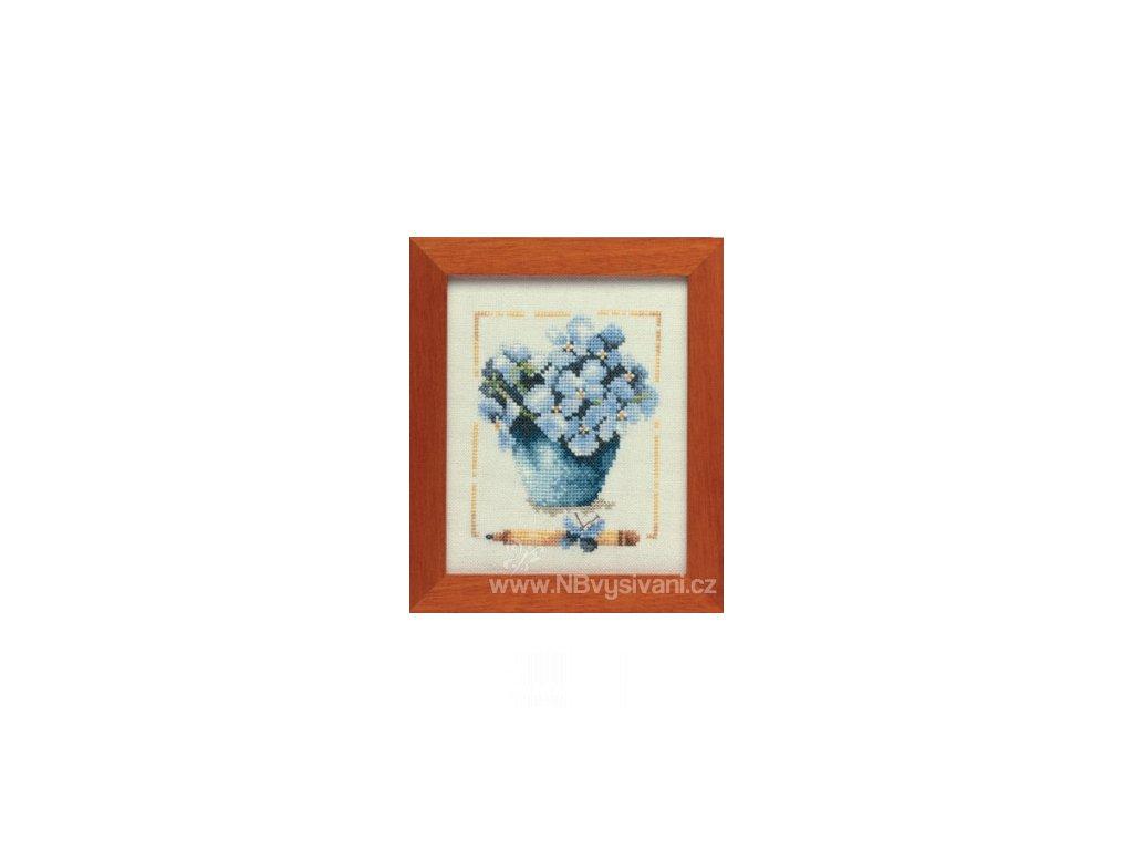 L-PN0007977 (34541) Džbánek s fialkami