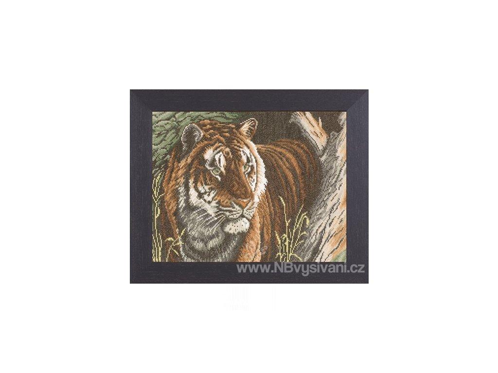 L138010 Tygr na lovu (doprodej)
