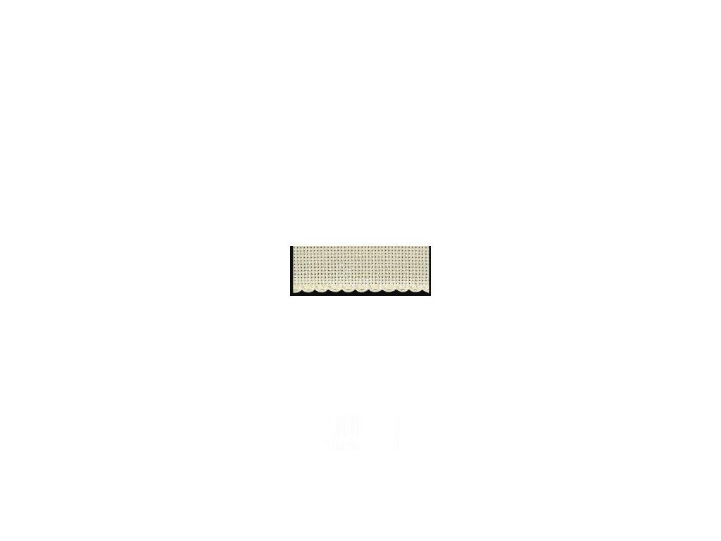 ZW7107-3 Vyšívací stuha béžová š.5cm (50cm)