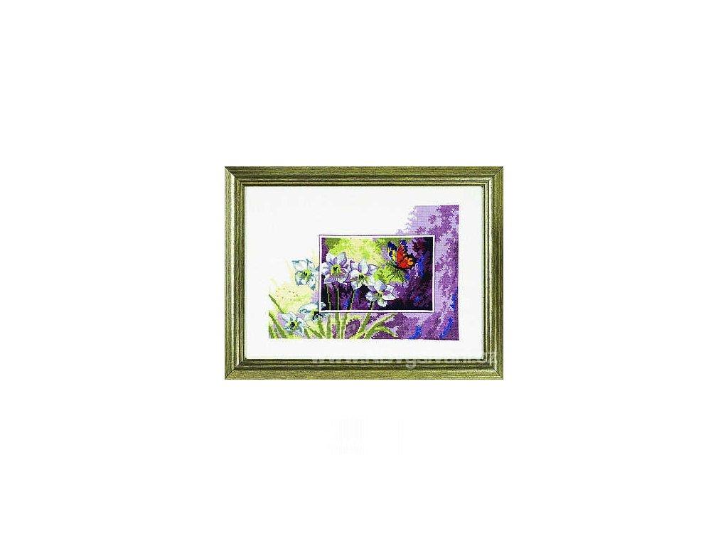 PER12-3195 Motýl a lilie