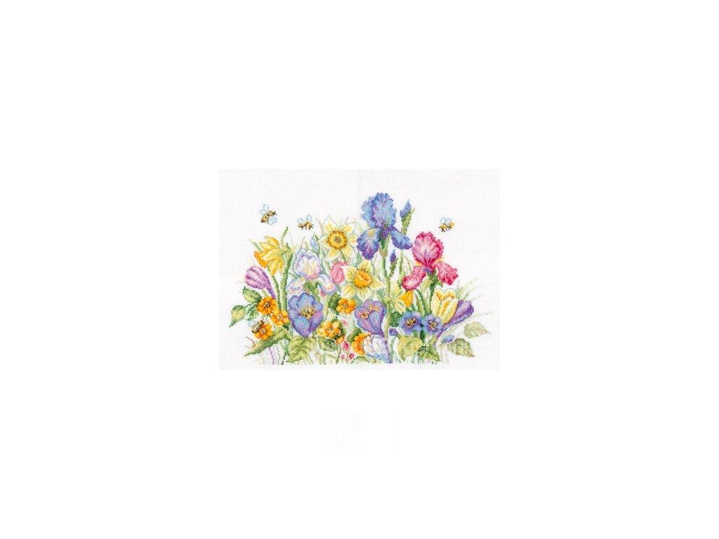 RT-M095 Zahradní květiny