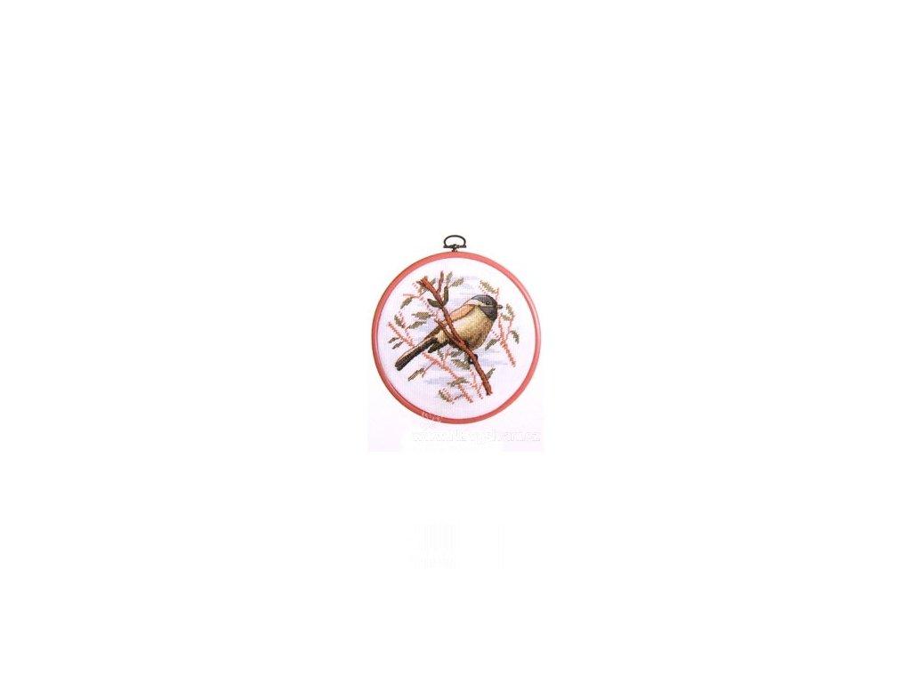 ARP988.6420.33 Sada s rámečkem - ptáček na větvi (doprodej)