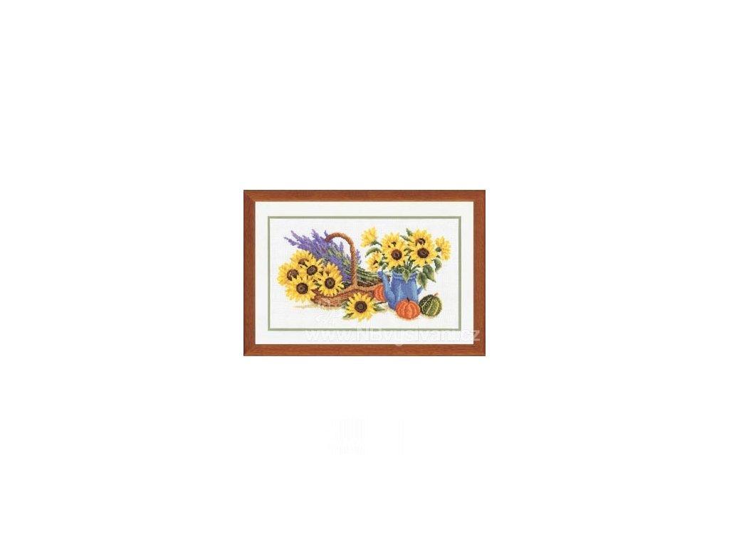 VE2002-70.075 Květy slunečnic