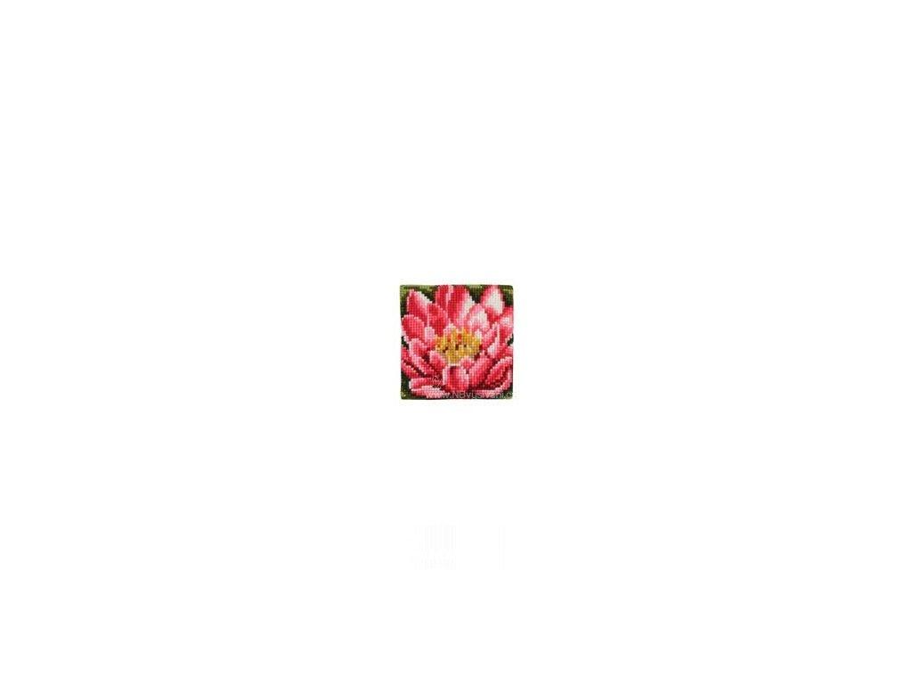 VE1225-5769 Polštářek malý s lotosovým květem