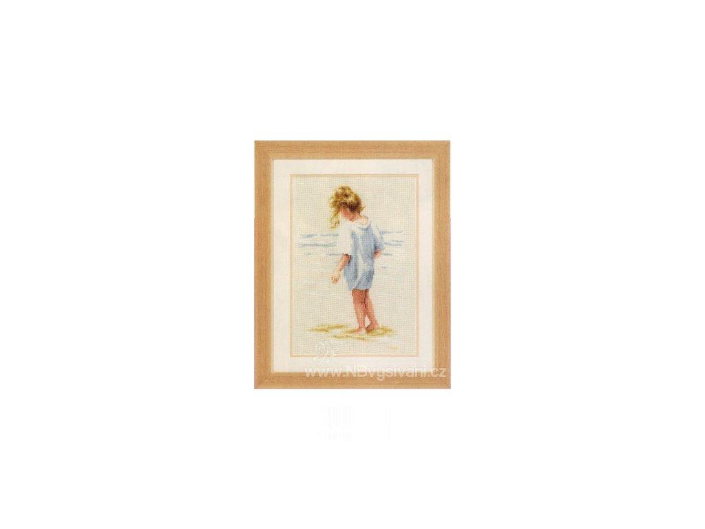 VE2002-75.086 Děvčátko na pláži