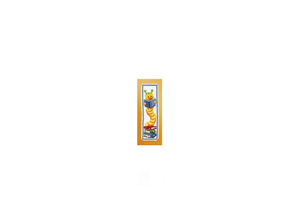 VE2002-17.503 Záložka - housenka