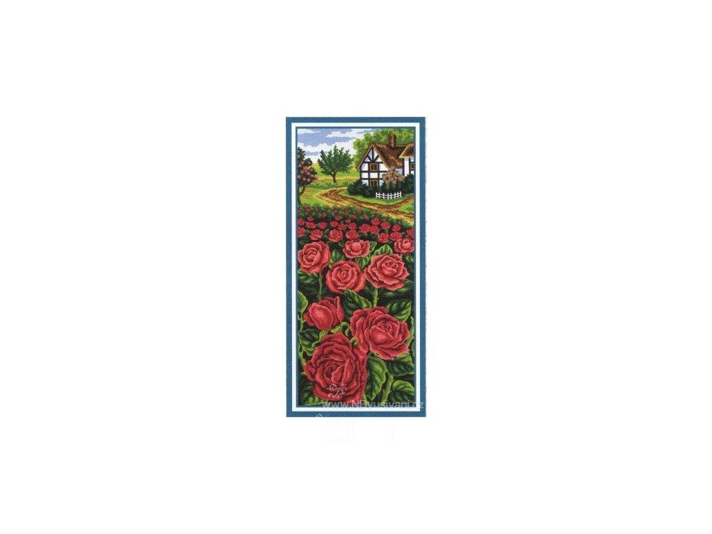 ADA8.050 Domek a záplava rudých růží