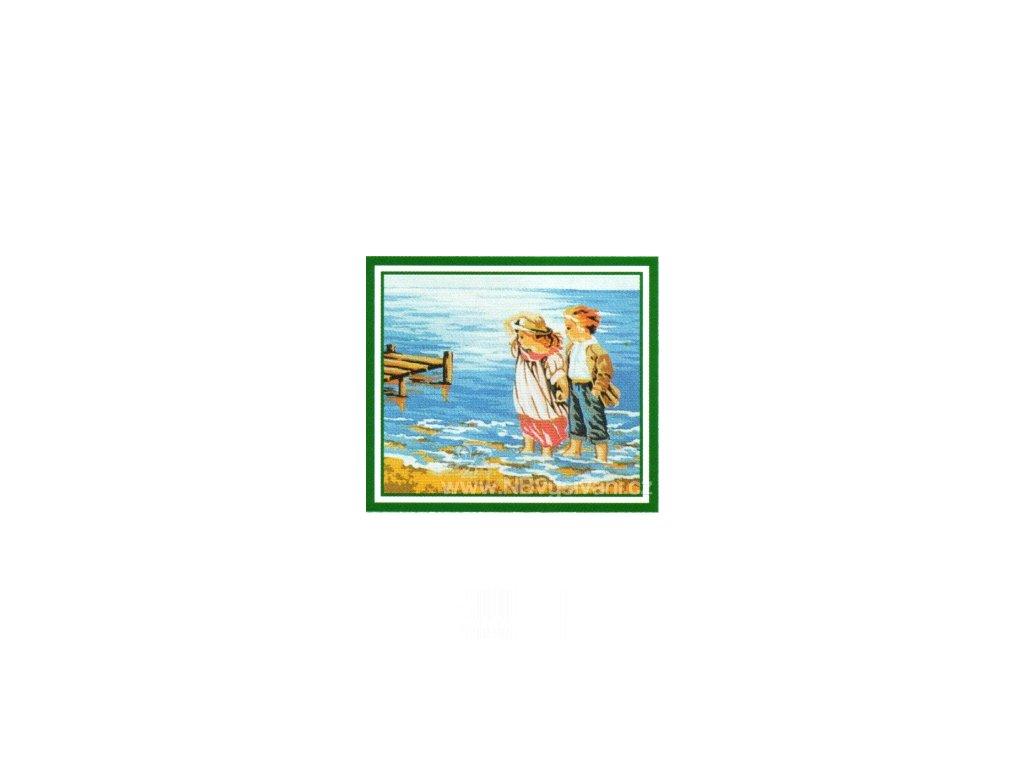 ADA-A36 Brouzdající se děti ve vlnách