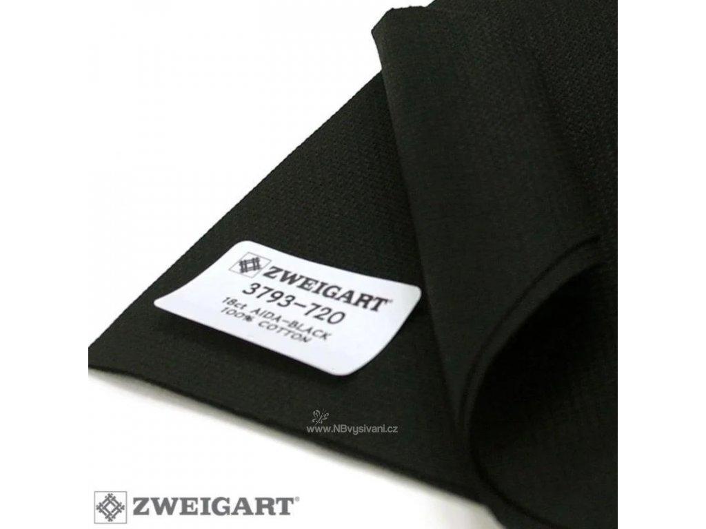 ZW3793-720 Aida 18ct Black (110x100cm)