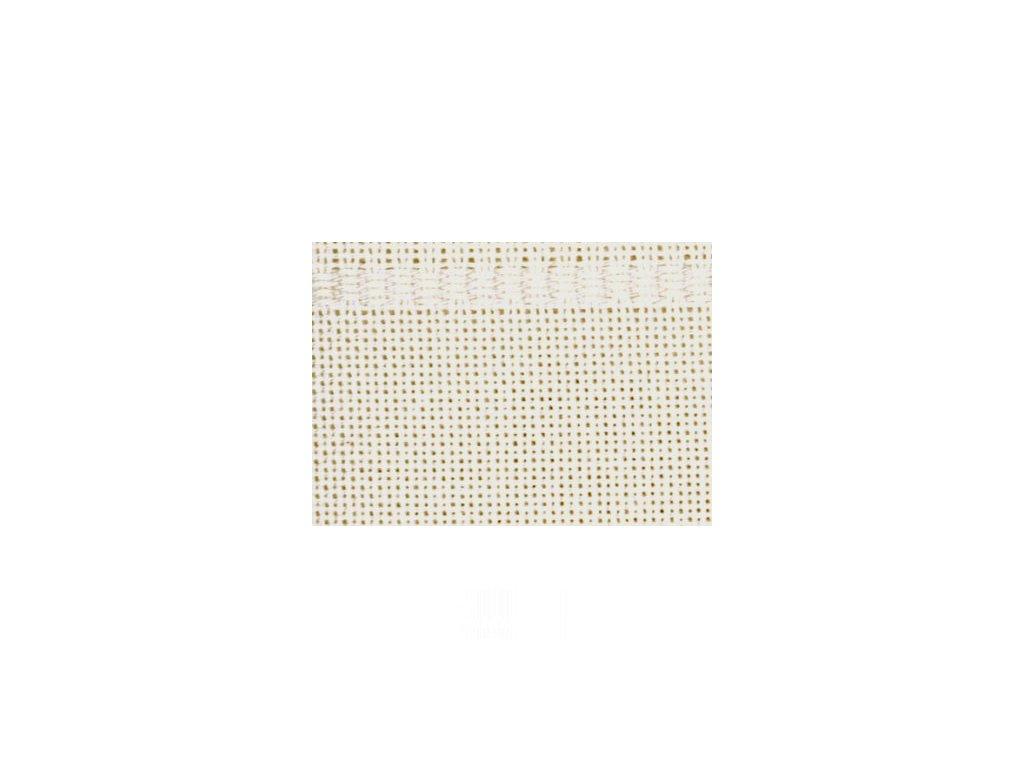 HOF242-00 Ubrus na vyšívání krémový (90x90cm)