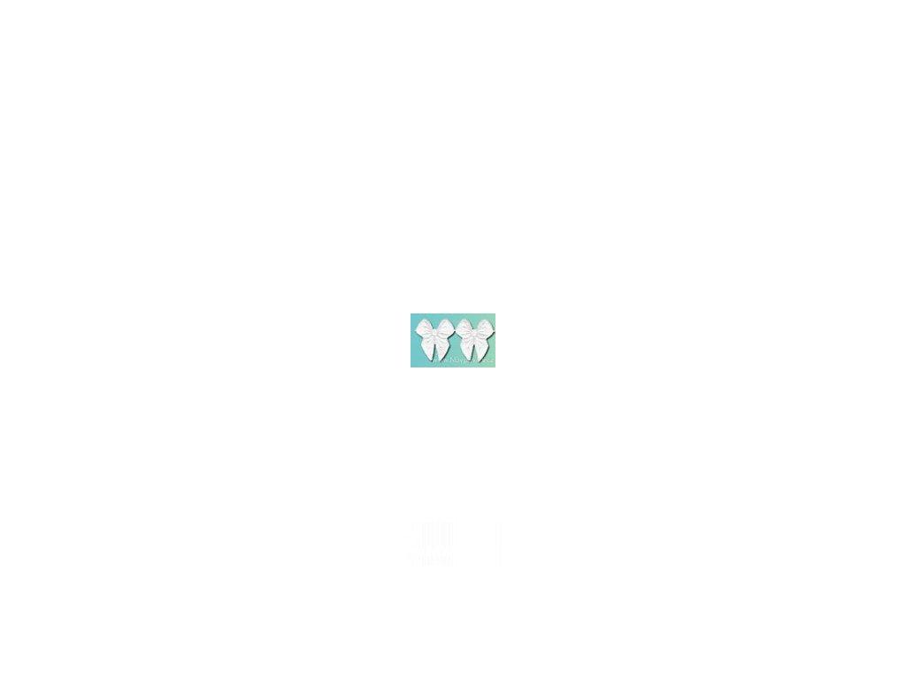 V18822 Aplikace Mašličky bílé (20ks)